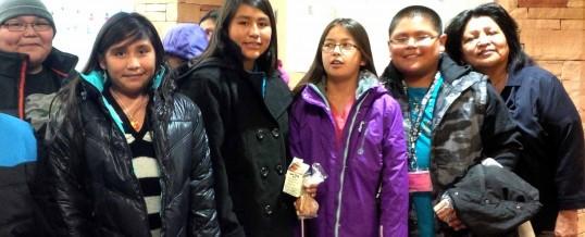 2014 First Mesa Elementary Coats4Kids Winter Coat Drive