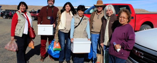 2016 Tewa Holiday Project Delivery to Tewa