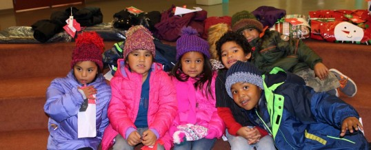 2016 Tewa Holiday Project Coats4Kids Delivery